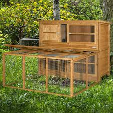 Rabbit Hutch With Large Run Home U0026 Roost U2013 5ft Chartwell Double Luxury Rabbit Hutch