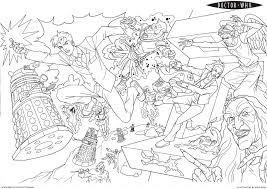 doctor coloring pages fablesfromthefriends