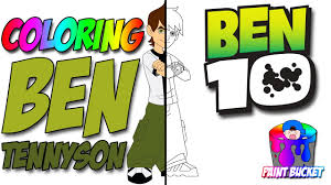 ben 10 coloring pages cartoon network coloring book kids