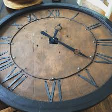 repurposed table top ideas repurposed tabletop to wall clock repurposed tabletop and wall clocks