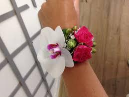 Bracelet Fleur Mariage Blanc Bleu Rêve à Vannes Mariage Vannes