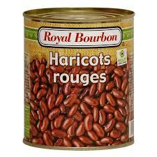 cuisiner des haricots rouges secs produits secs conserves royal bourbon haricots rouges nature 400g