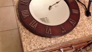easily change broken clock hands youtube