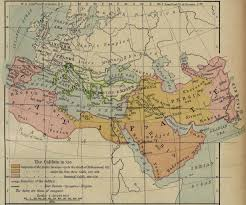 Islam World Map by Medieval Index