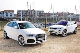 land wind vs land rover audi q3 vs range rover evoque auto express