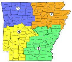 us map with arkansas dhs contact us