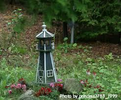 Lighthouse Garden Decor Garden Lighthouses Decorative Unique Nautical Yard Accents Garden