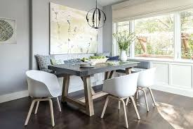 white and gray dining table white and gray dining table gray dining nook with salvaged wood and