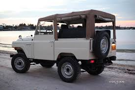 icon fj43 on the hunt for vintage off road a continuous lean