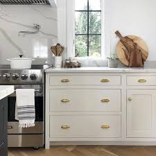 best benjamin light gray for kitchen cabinets 8 great neutral cabinet colors for kitchens the grit and