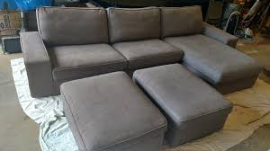 Kivik Ottoman Wts Ikea Sectional Sofa With Two Ottomans