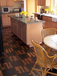 Cork Flooring Kitchen by Kitchen Elegant Flooring For Kitchen Eco Friendly Flooring For