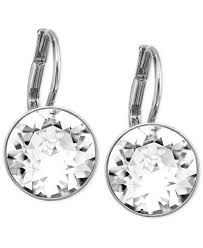 drop earrings swarovski earrings drop earrings jewelry watches macy s