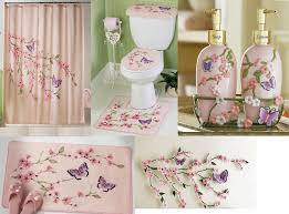 Bathroom Sets Shower Curtain Rugs Bathroom Sets With Shower Curtain And Rugs Butterfly Butterfly