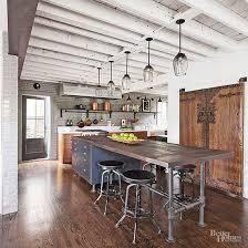 industrial kitchen islands industrial meets rustic in this kitchen interior design