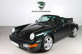 porsche 964 cabriolet cars for sale