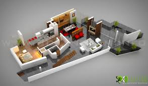 residential floor plan residential 3d ground floor plan design yantram architectural