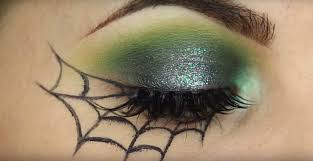 pretty halloween eye makeup 8 easy halloween makeup tutorials for the cheap u0026 lazy galore