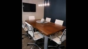 Besprechungstisch Büromöbel Besprechungstisch Holz Tischplatte Youtube