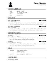 Harvard Resume Template Resume Templates Latex U2013 Inssite