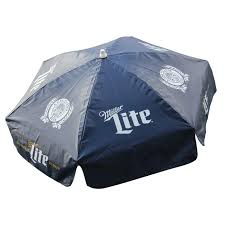 Vinyl Patio Umbrella Miller Lite Vinyl Patio Umbrella The Pub Shoppe