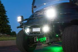golf cart led strobe lights led golf cart lighting kit multi strip remote activated rgb color