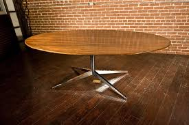 Oval Conference Table Florence Knoll Rosewood Oval Dining Conference Table Arroyo