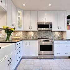 kitchen backsplash for white cabinets glass tile backsplash inspiration glass gray and kitchens