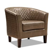 Brown Leather Accent Chair Luxor Accent Chair Brown Value City Furniture And Mattresses