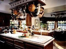 kitchen island with pot rack kitchen islands hanging pot racks ramuzi kitchen design ideas
