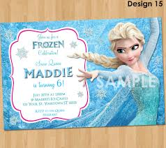 frozen birthday invitation elsa frozen invitation printable