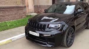hellcat jeep engine jeep grand cherokee srt hellcat 2017 youtube