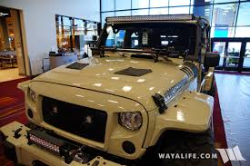 military jeep tan 2017 sema doetsch offroad tan jeep jk wrangler unlimited