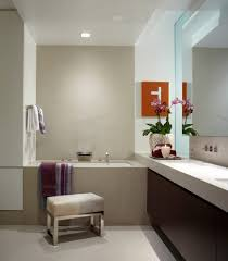 astonishing large bathroom mirror with wallpaper doors feature wall