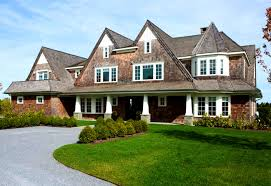 New England Style Home Plans Modern Shingle Style Architecture Wainscott Main House Modern