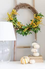 Diy Twig Wreath by Natural Fall Wreath Diy