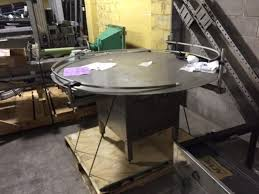accumulation table for sale used 5 diameter pack off accumulation table for sale 5300