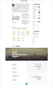Fashion Resume Templates 41 Html5 Resume Templates U2013 Free Samples Examples Format