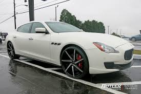 maserati quattroporte black rims lexani css 7 wheels at butler tires and wheels in atlanta ga
