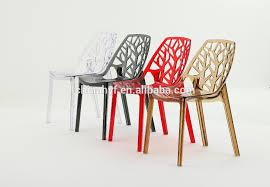 chaise en design moderne chaise en plastique cristal acrylique chaise d