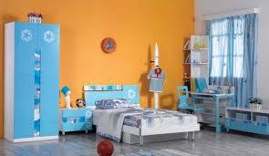 robe de chambre originale design interieur chambre ado garçon bleu tapis lit garde robe