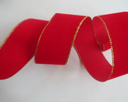wide christmas ribbon velvet ribbon wired 2 1 2 inch wide christmas ribbon