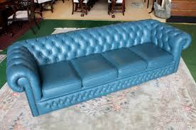 Blue Leather Chesterfield Sofa Blue Leather Chesterfield Sofa Hereo Sofa