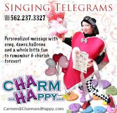 cheap singing telegrams charmandhappy valentines day singing telegrams los angeles socal