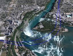 Niagara Falls Canada Map by Niagara Falls Flight