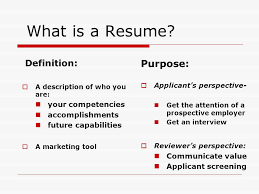 What Is The Purpose Of A Resume Whats The Purpose Of A Resume Resume Ideas