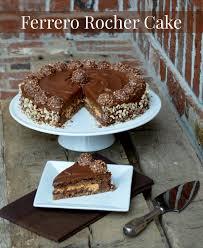 ferrero rocher cake lemonythyme com adventuresinchocolate
