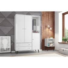 Dog Armoire Furniture White Armoires U0026 Wardrobes You U0027ll Love Wayfair
