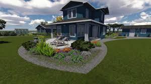 3d garden design youtube