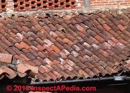Ceramic Tile Roof Mexican Ceramic Tile And Staining On Clay Tile Roofs Such As The